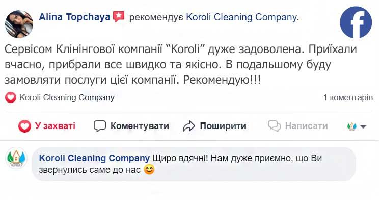 Отзыв о генеральной уборке квартиры