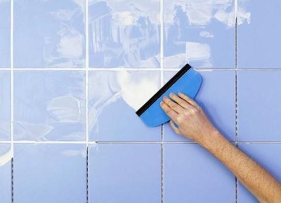 Как убрать затирку с плитки